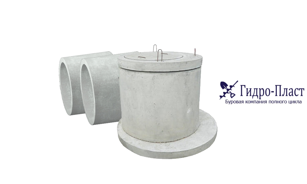 Кессоны из больших железобетонных колец