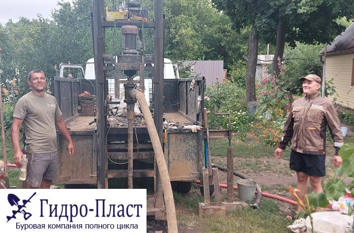 Бурение скважины в селе Чертовицы