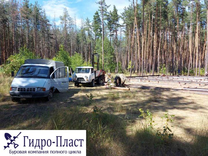 Бурение скважины в Отрадное Воронеж