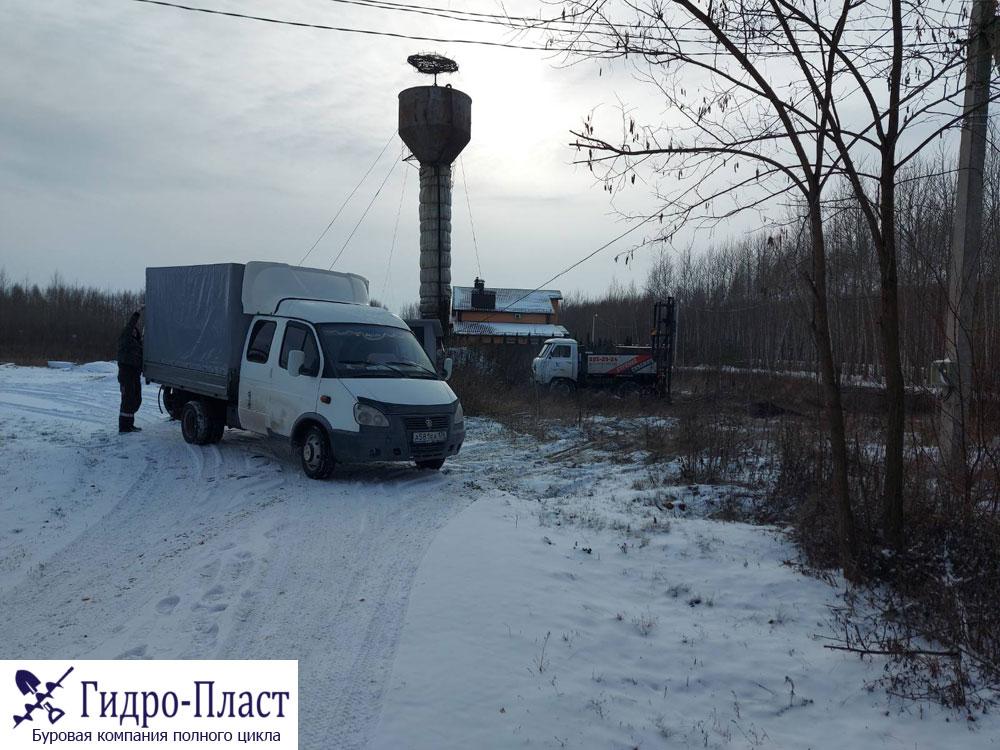 Бурения скважины в селе Парусное