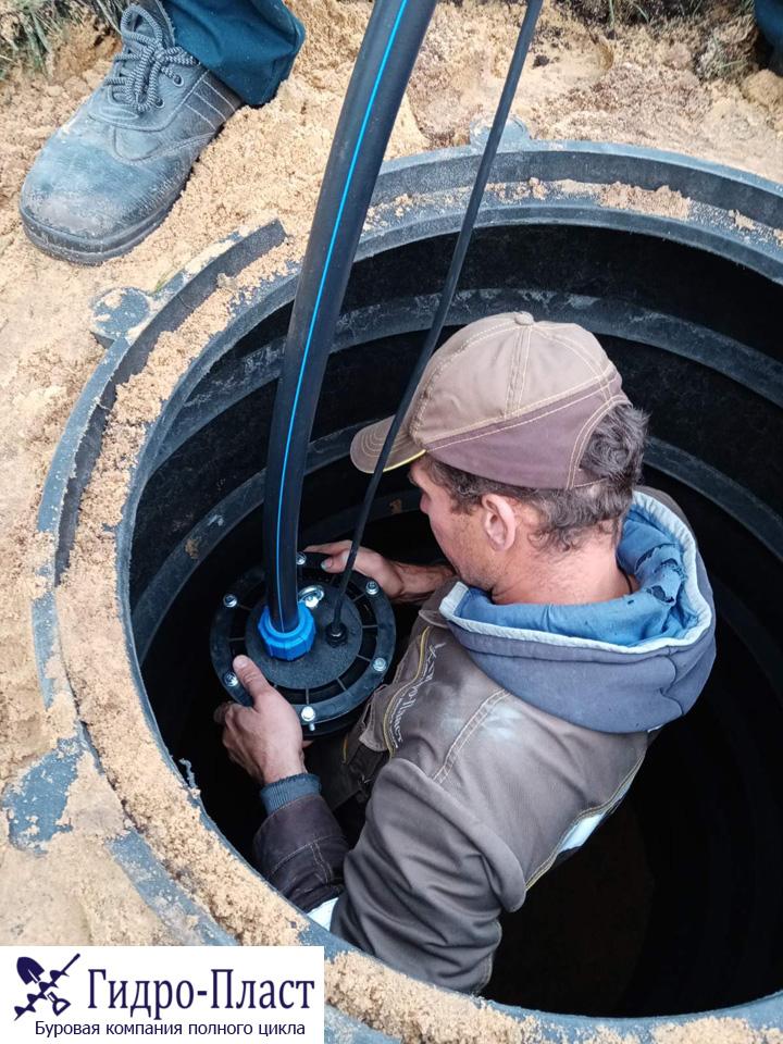 Обустроили скважину в Нижнемарьино
