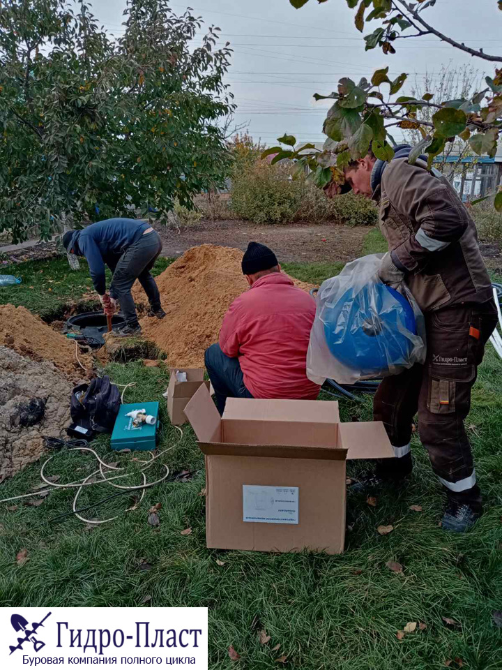 Пробурили скважину в Шилово Воронежской области