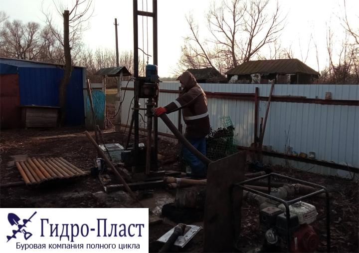 Пробурили скважину в селе Верхняя Байгора