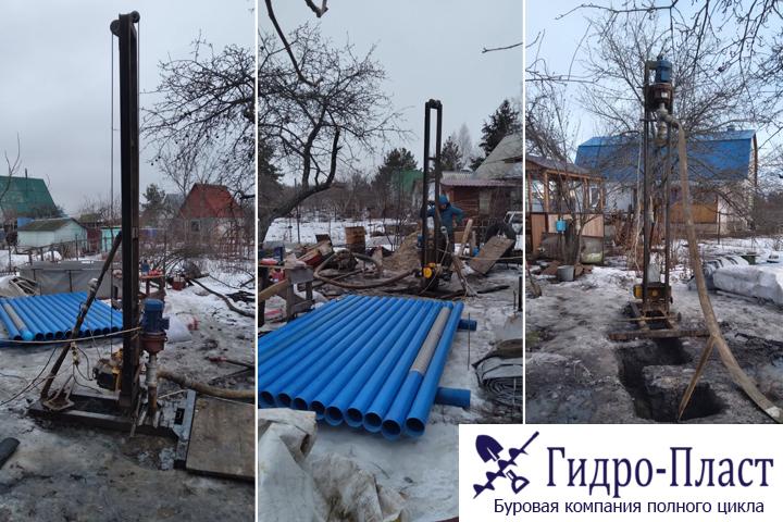 Новая скважина в деревне Медовка