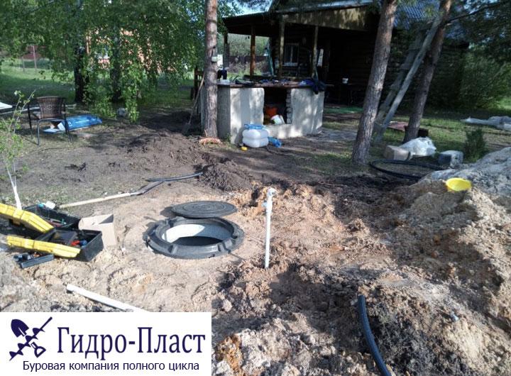 Новая скважина в Чертовицы СНТ Роща