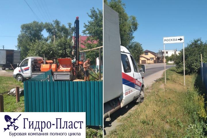 Пробурили скважину в Стрелецкие хутора
