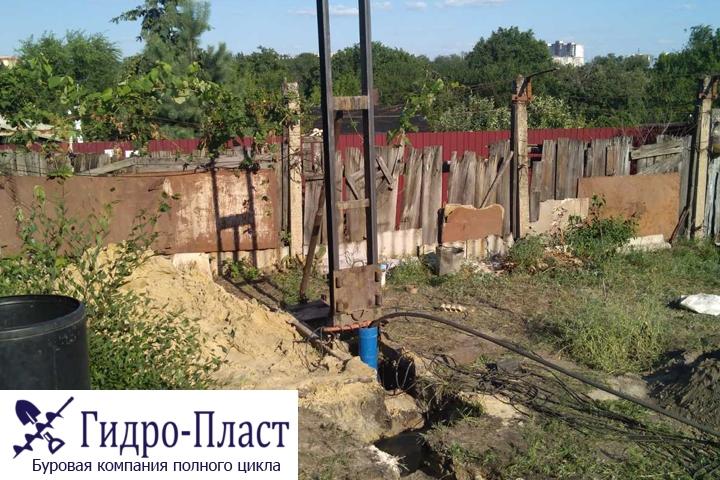 Скважина в микрорайоне Машмет