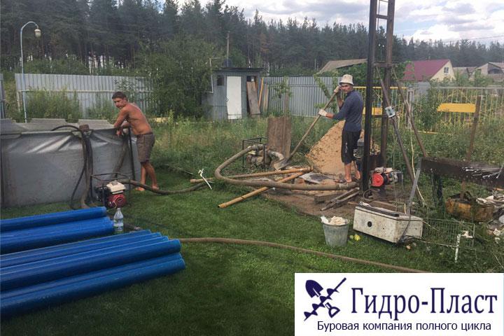 Пробурили водозаборную скважину в снт Ветерок в Лискинский район