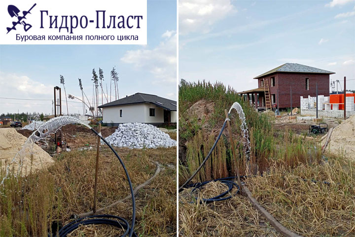 Пробурили скважину на воду в Ямное, Воронежской области