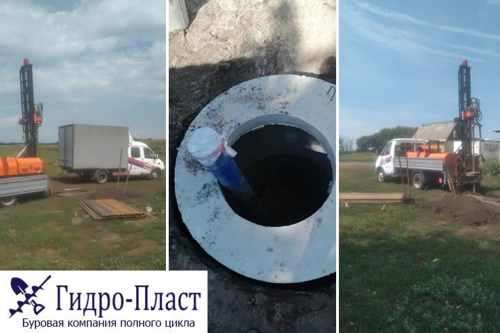 Пробурили водозаборную скважину в селе Тройня Воронежская область