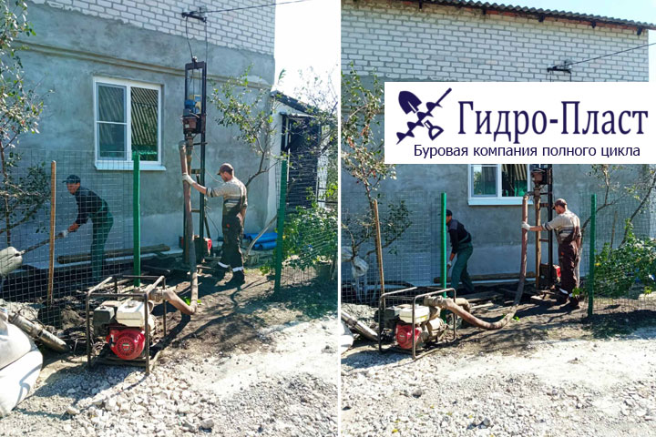 Бурение и обустройство водозаборной скважины в СНТ Усманка